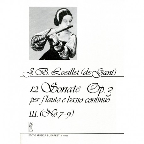 12 Sonata Op. 3, Volume 3, No. 7-9