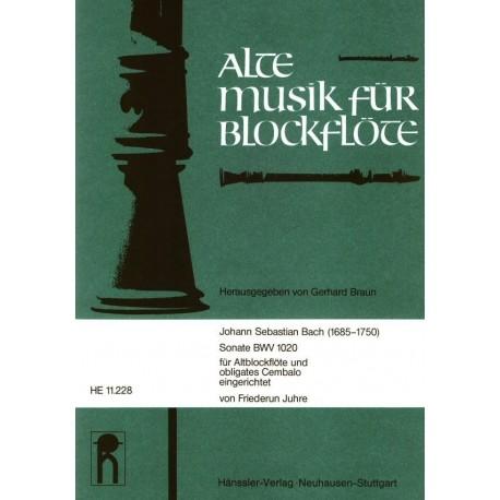 Sonata BWV 1020