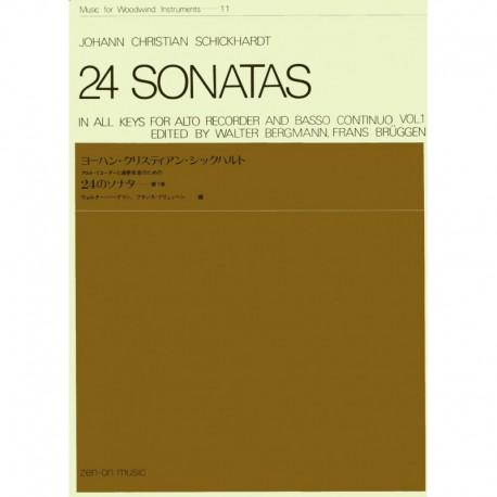 24 Sonatas volume 1.