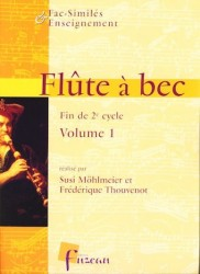Recorder Fascimile and Teaching end 2nd Cycle Volume 1