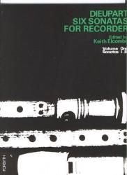 Six Sonatas for Recorder Volume 1