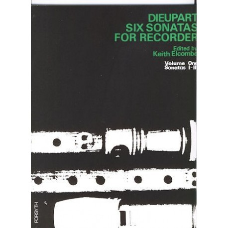 Six Sonatas for Recorder Volume 1