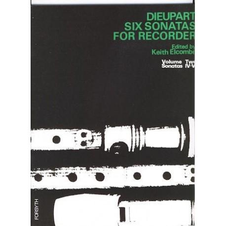 Six Sonatas for Recorder Volume 2