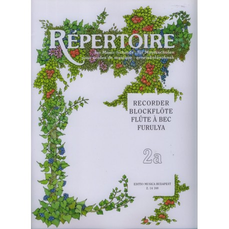Repertoire for Music Schools Vol 2a