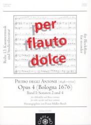 Sonatas 2 & 4 Op 4