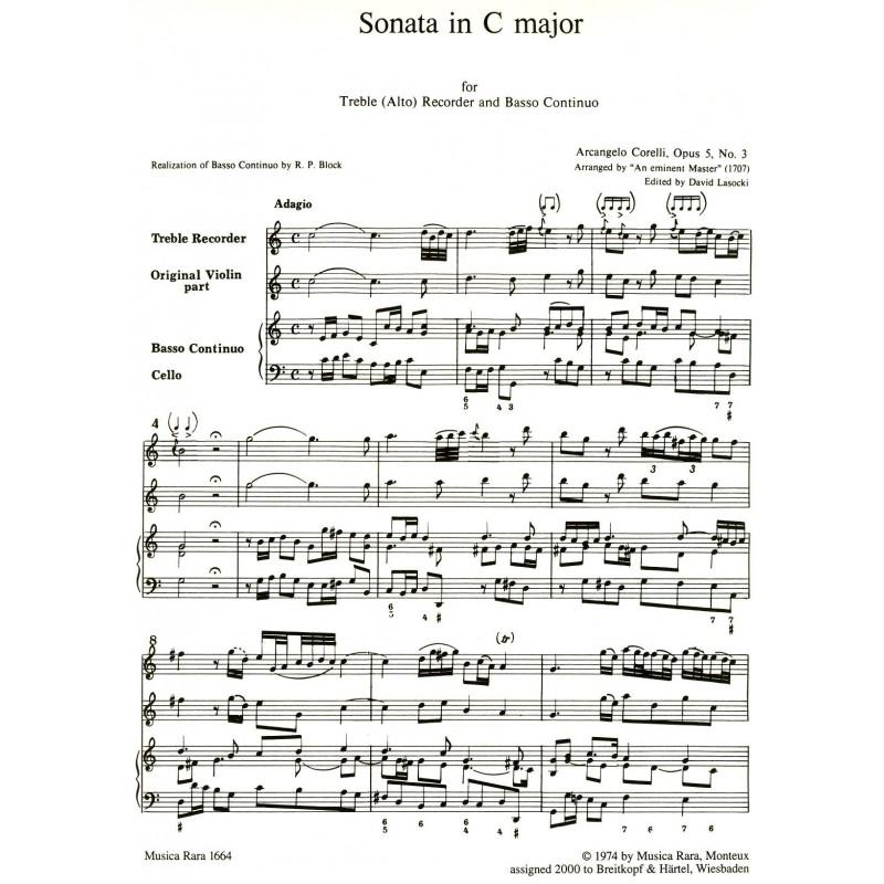 Sonata in C Major, Op. 5, No. 4 (Violin 2 Part)