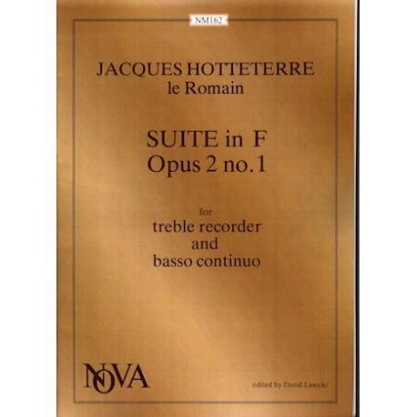 Suite in F Major Op 2, No 1