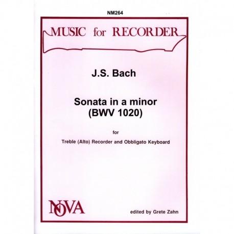 Sonata in a minor (BWV 1020)