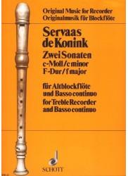 2 Sonatas in c minor and F Major