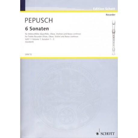 6 Sonatas, Vol 1
