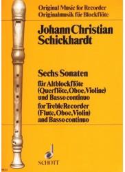 6 Sonatas (Vol 1)