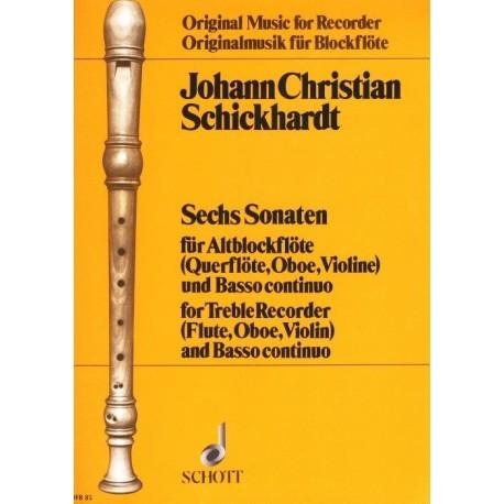 6 Sonatas (Vol. 1)