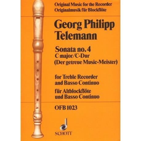 Sonata no 4 in C Major