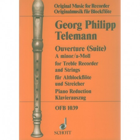 Overture (Suite) in a minor