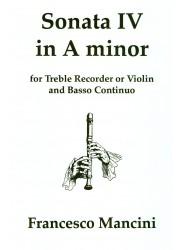 Sonata IV in a minor