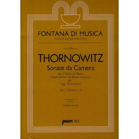 Sonata da Camera Vol 1 Sonatas 1-3