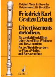 Divertissements Melodieux