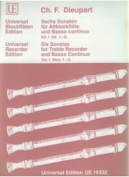 6 Sonatas, vol 1 (Nos 1-2)