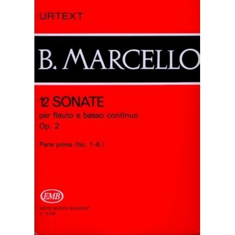 12 Sonatas Op 2  Part I (nos 1-6)