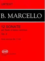 12 Sonatas Op 2 Part II (nos 7-12)