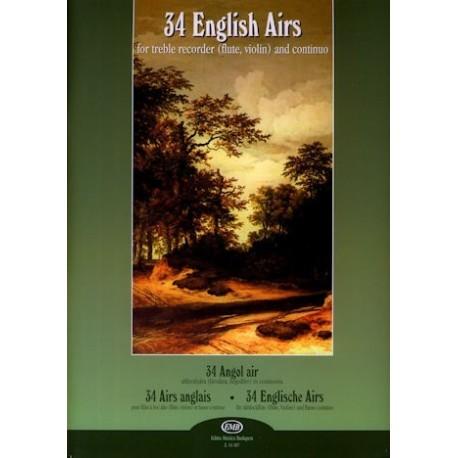 34 English Airs