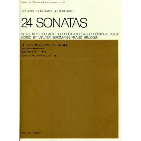 24 Sonatas volume 4.