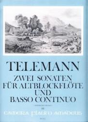 Sonatas d minor and C Major from Essercizii Musici
