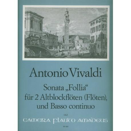 """Sonata """"Follia"""""""