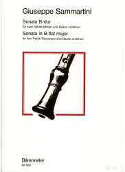 Sonata in B flat Major