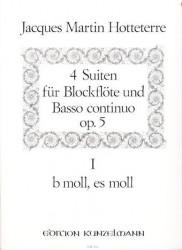 Four Suites Op 5, Vol 1 (b moll & es moll)