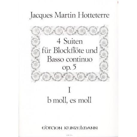 Four Suites Op. 5, Vol. 1 (b moll & es moll)