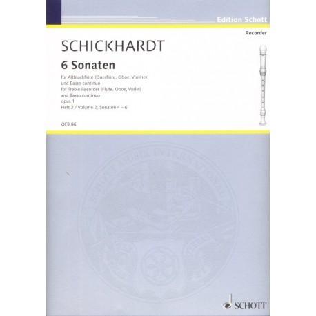 6 Sonaten (Vol. 2)