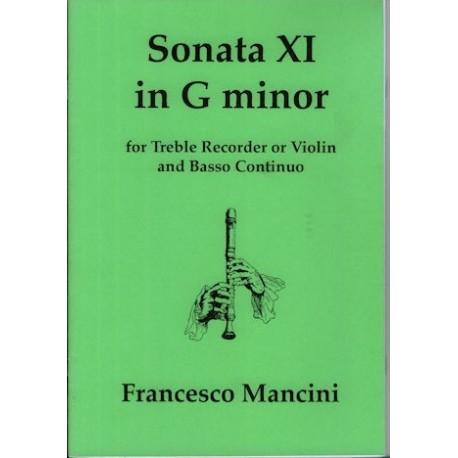 Sonata XI in g minor