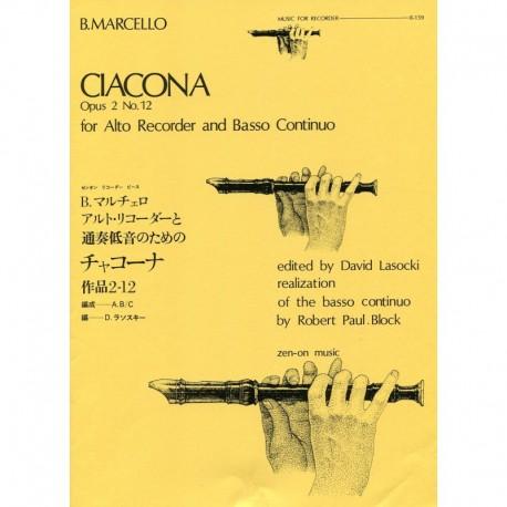 Ciacona Opus 2 No 12