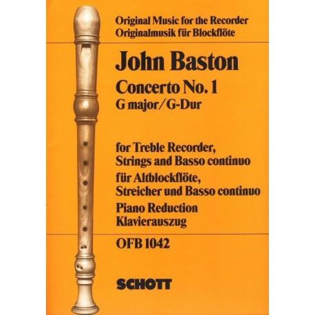 Concerto no. 1 in G Major