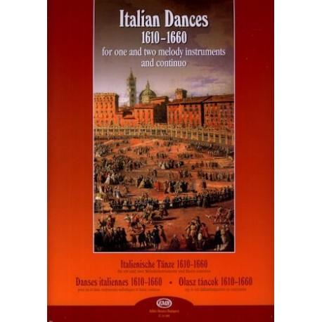 Italian Dances 1610 to 1660