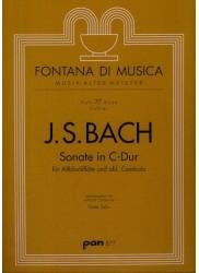Sonata in C Major BWV 1032