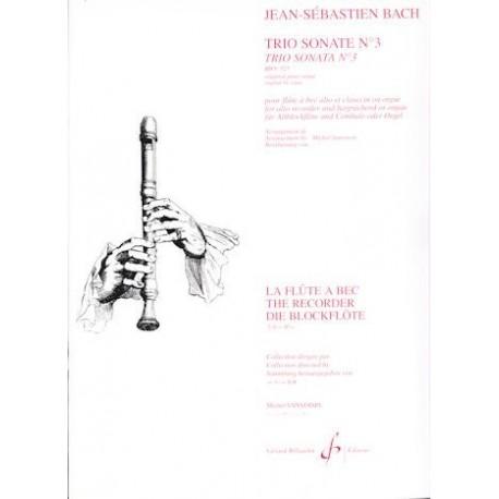 Trio Sonata no 3, BWV 525