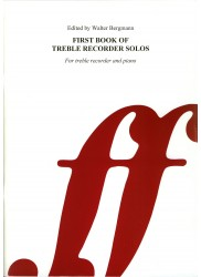 First Book of Treble Recorder Solos