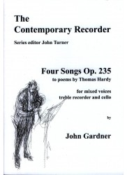 Four Songs Op235 John Gardner