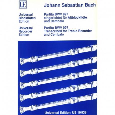 Partita BWV 997
