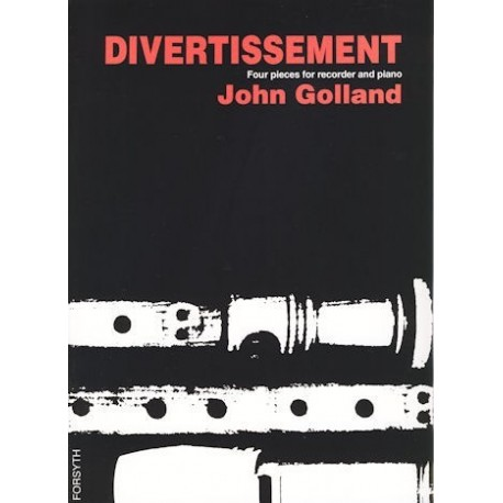 Divertissement: Four Pieces for recorder and piano