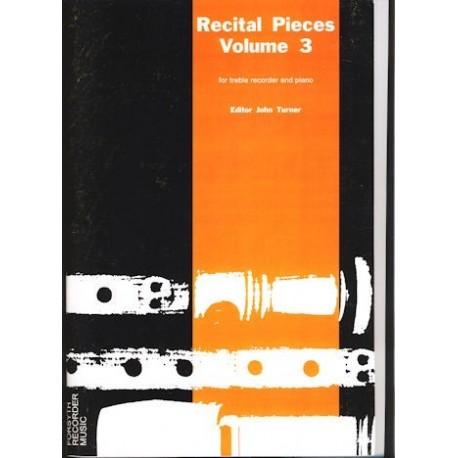 Recital Pieces Vol 3