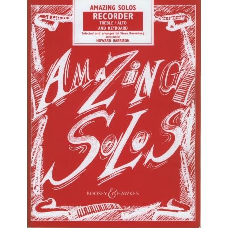 Amazing Solos Recorder