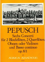 Six Concertos Op 8 No 1