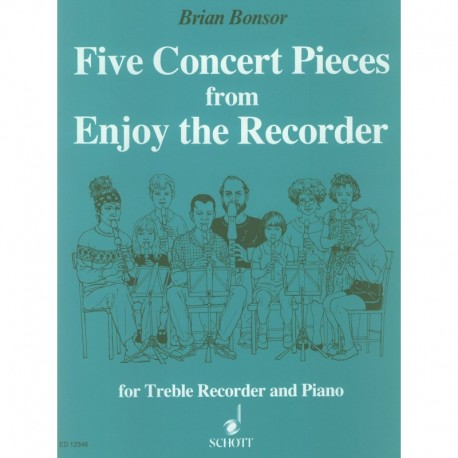 Five Concert Pieces from Enjoy the Recorder