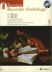 Baroque Recorder Anthology Volume 3