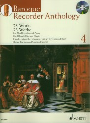 Baroque Recorder Anthology Volume 4