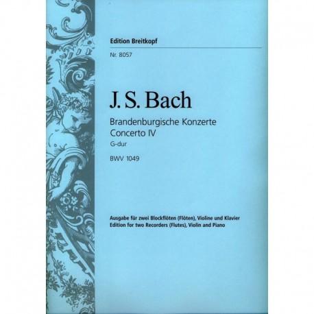 Brandenburg Concerto No 4 BWV1049