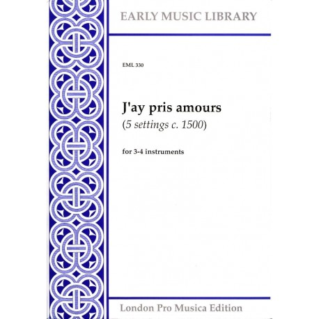 J'ay pris amours (5 settings)